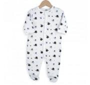 "Pyjama Bébé Velours ""ELEPHANT"""