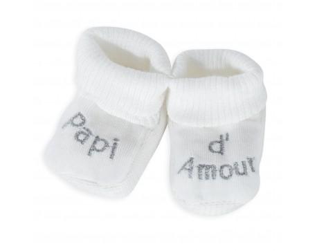 Chaussons Bébé - Papi d'Amour