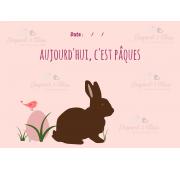 Page Carnet de Vie - PAQUES
