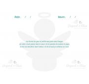 Page Carnet de Vie - Bébé Ange