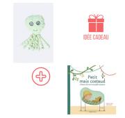 """""""Mes Premiers Cadeaux"""" - Pieuvre + Livre (Prema)"""
