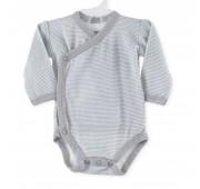 Body bébé rayures (Dès 45 cm - Prématuré)