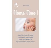 Faire-Part Numérique - Home Time
