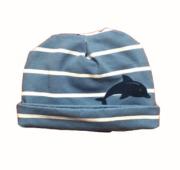 Bonnet bébé prématuré - dauphin
