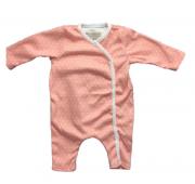 Pyjama prématuré fille - Saumon