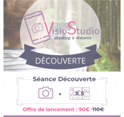 Séance Photo à distance - VisioStudio Découverte