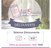 Séance Photo à distance - VisioStudio Découverte