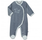 Pyjama velours prématuré garçon - Soir