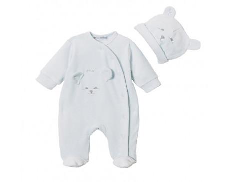 Pyjama velours prématuré garçon - Zozo