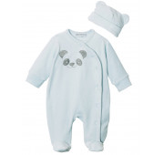 Pyjama velours prématuré garçon - Pandou