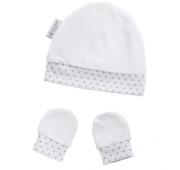 Bonnet et moufles de naissance - Préma