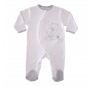 Pyjama Prématuré Blanc
