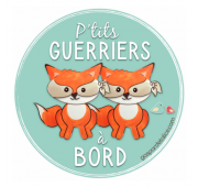 Sticker Jumeaux - P'tits guerriers à bord