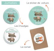 "Pack ""P'tit guerrier"" - Fille ou Garçon"