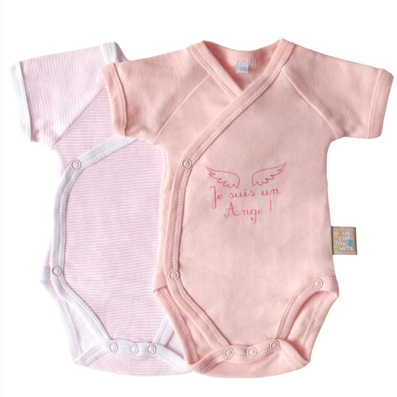 Body bébé manches courtes - Les Chatounets - GASPARD ALICE 24b6cb20c9a