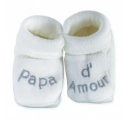 Chaussons Bébé - Papa d'Amour
