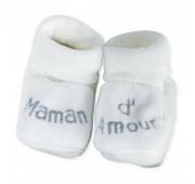 Chaussons Bébé - Maman d'Amour