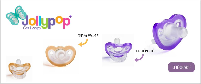 Jollypop - sucette prématuré