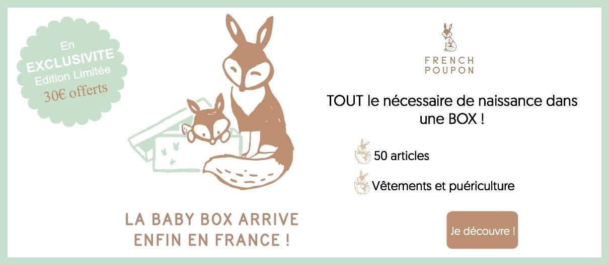 French Poupon - Baby Box